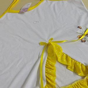 Branco Amarelo Poá