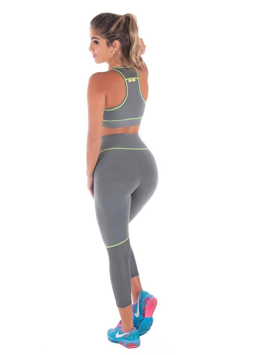 Calça Leggin Fitness em Suplex de Poliamida