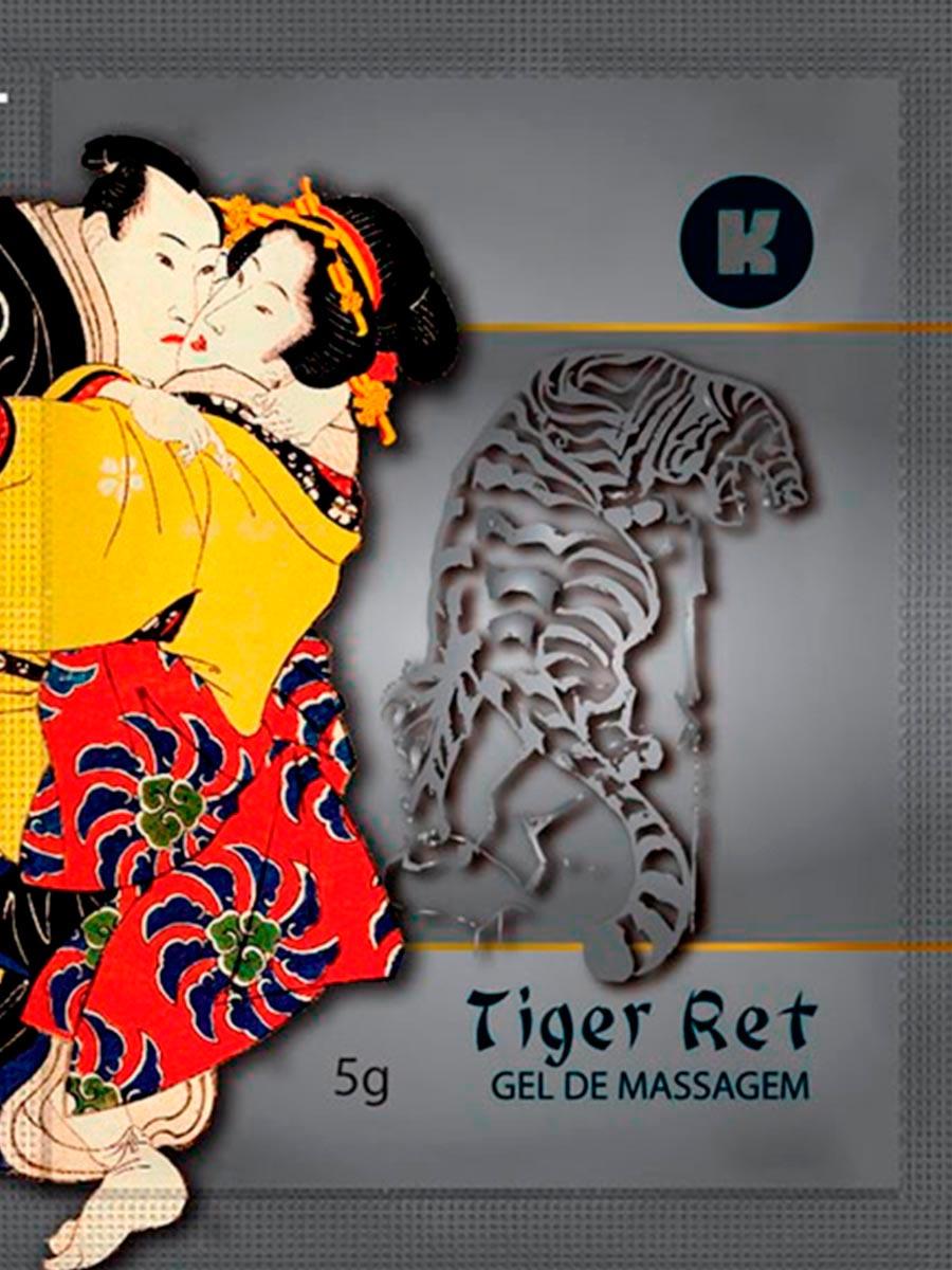 Gel Tiger-Ret Caixa Com 5