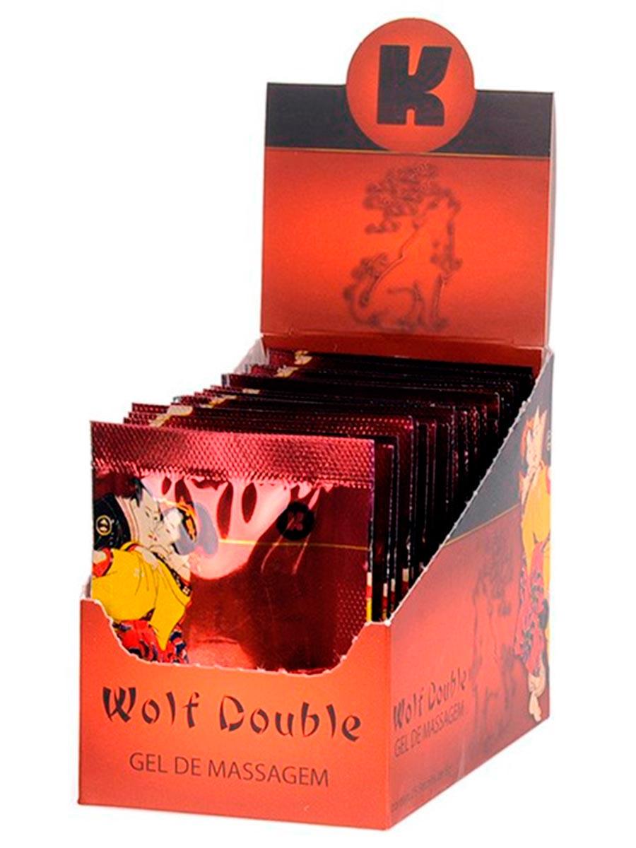 Gel Wolf Double Excitante Caixa com 25