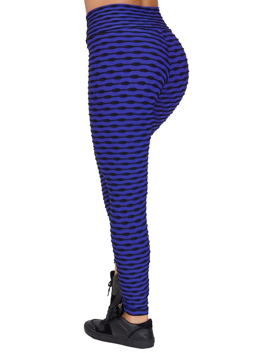 Calça Luna Multicollor Azul Bic