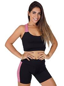 Conjunto Fitness Top + Short