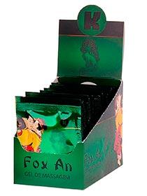 Gel Fox Anal Caixa Com 25