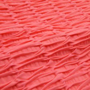 Body Fitness em tecido bolha com decote nas costas 0042