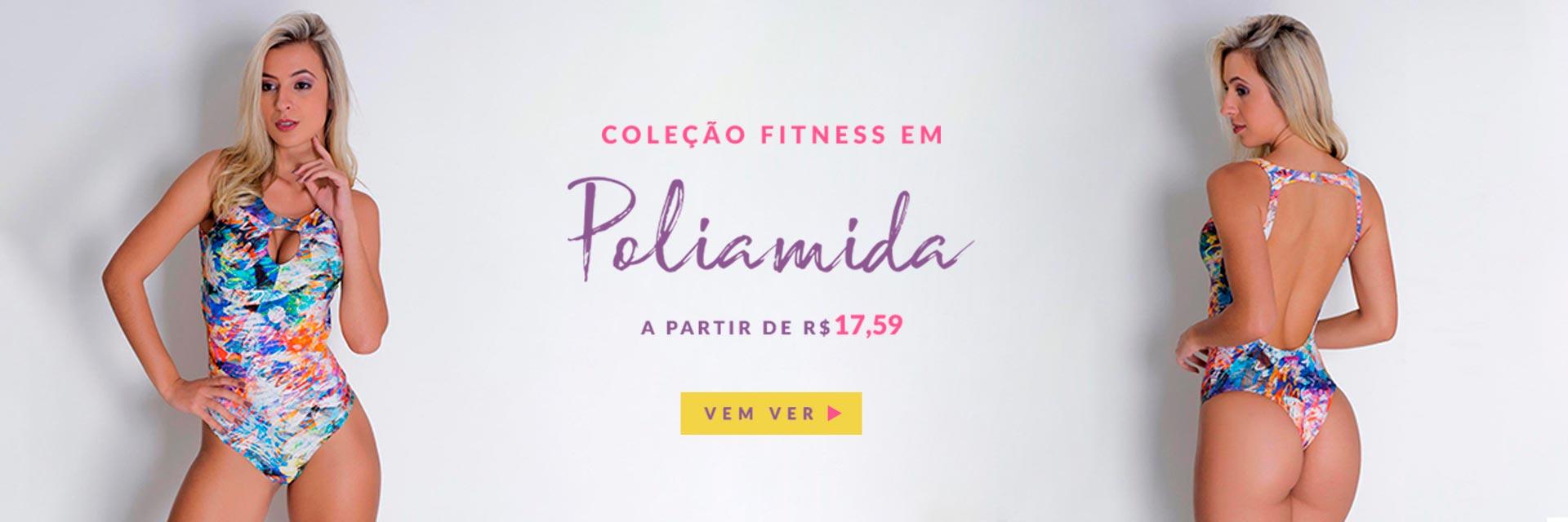 Coleção Fitness em Poliamida